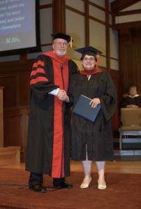 Frances' Graduation Picture